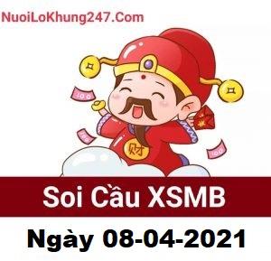 Soi cầu XSMB ngày 08–04–2021